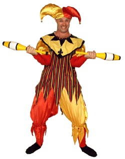 Red and Yellow Jester